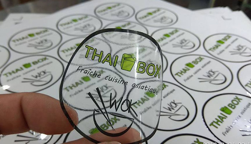 giấy decal trong suốt